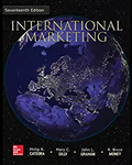 Cover of International Marketing, a popular textbook